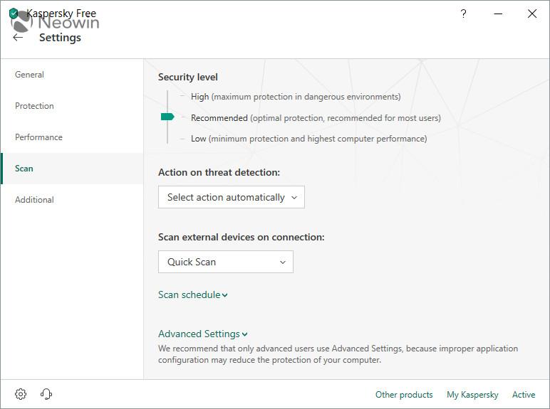 Download Kaspersky Free Antivirus 2019 - Neowin