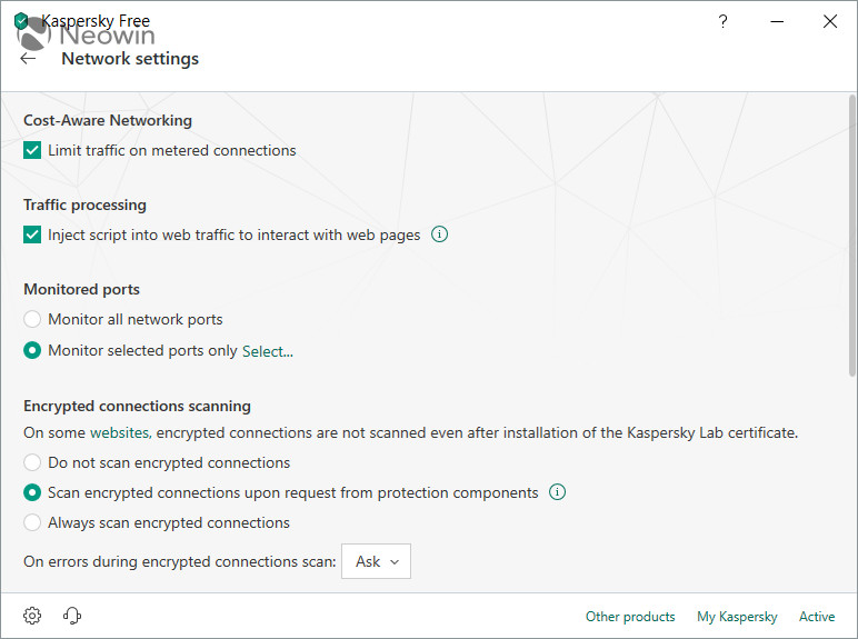 Download Kaspersky Free Antivirus 2019 - Neowin