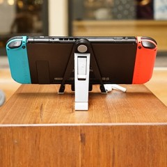 The kickstand designed for use with GENKI