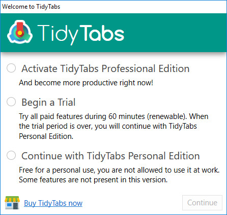 TidyTabs 1 3 2 - Neowin
