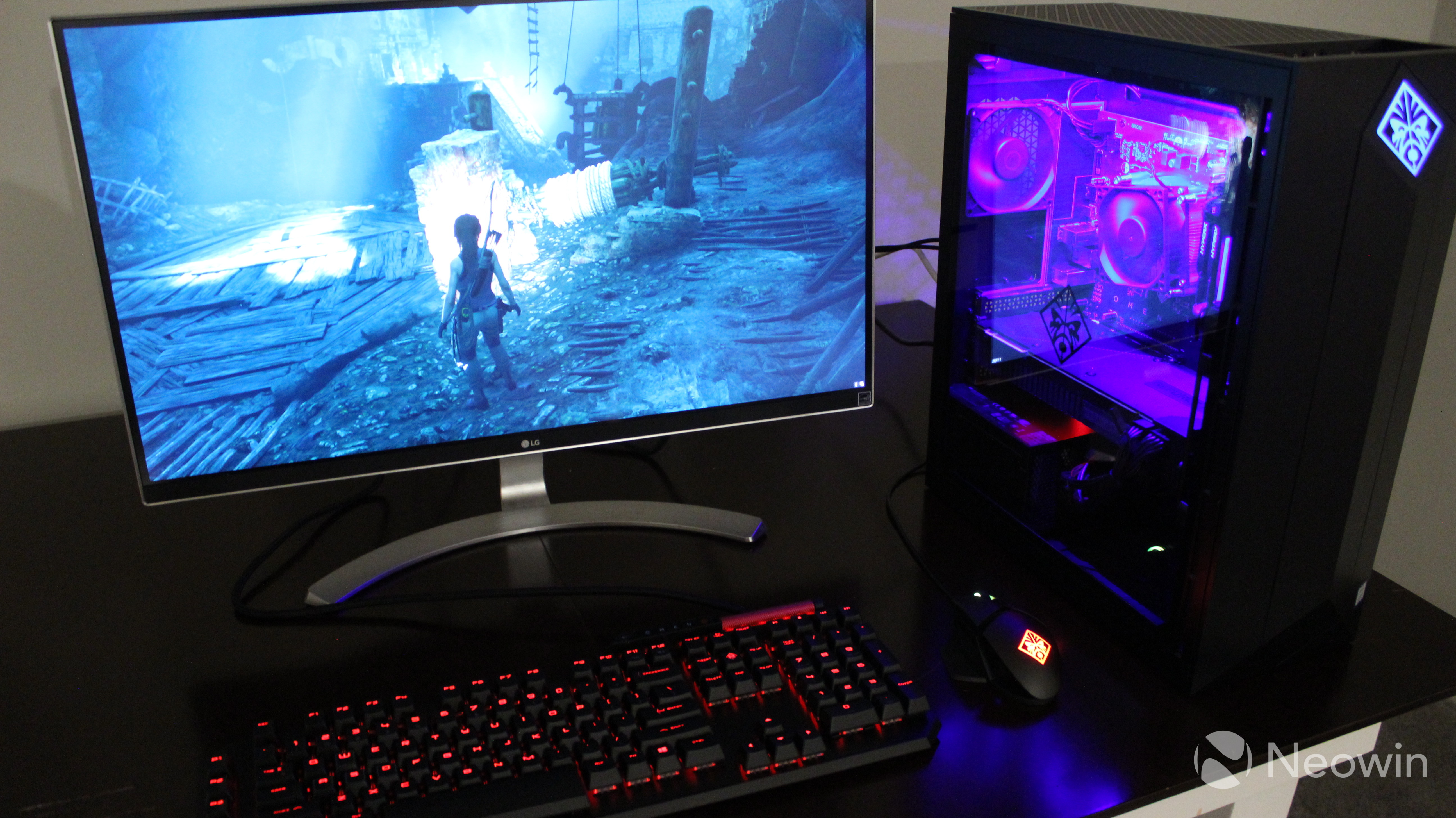 HP OMEN Obelisk review: The Nvidia GeForce RTX 2080 is literally