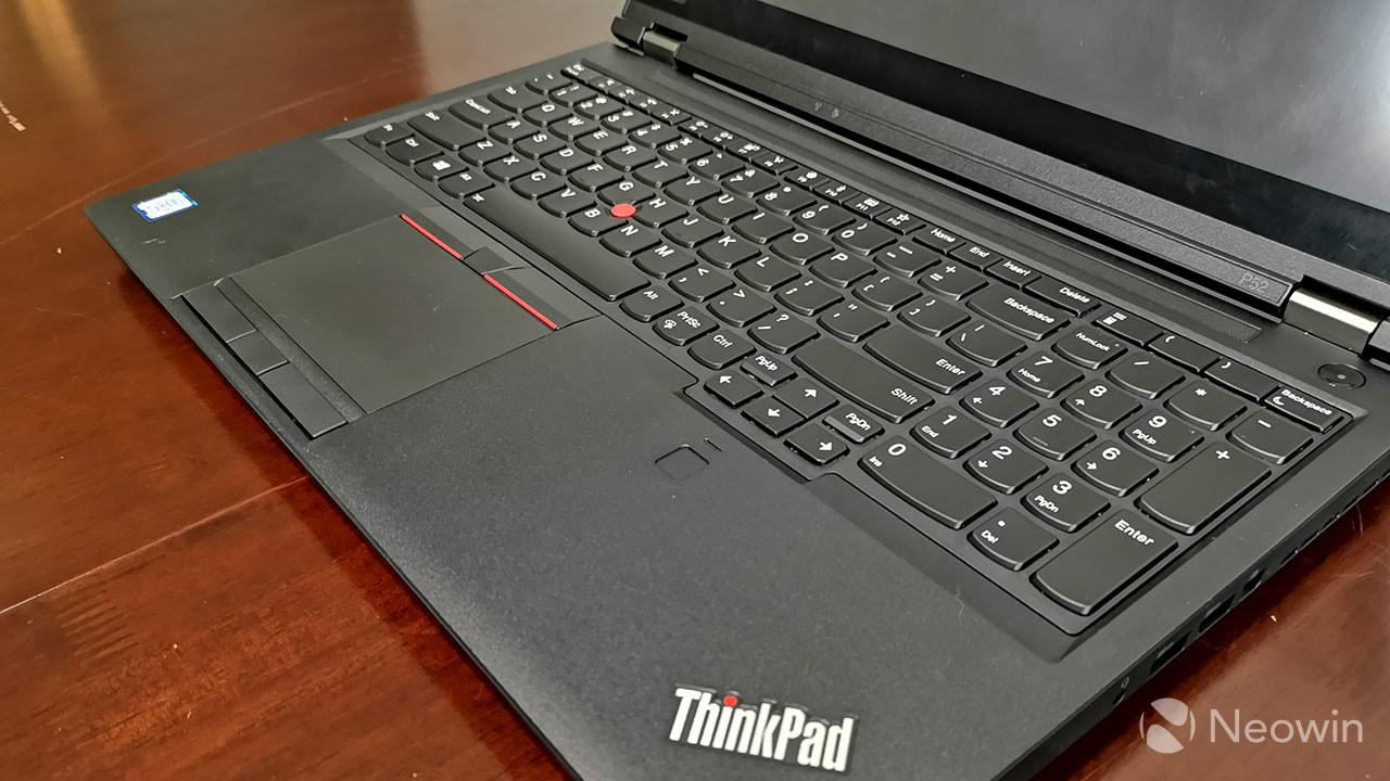 Lenovo ThinkPad P52 review: Big, bulky, and powerful - Neowin