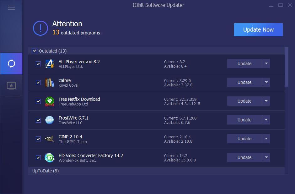 IObit Software Updater 1 0 1 1698 - Neowin