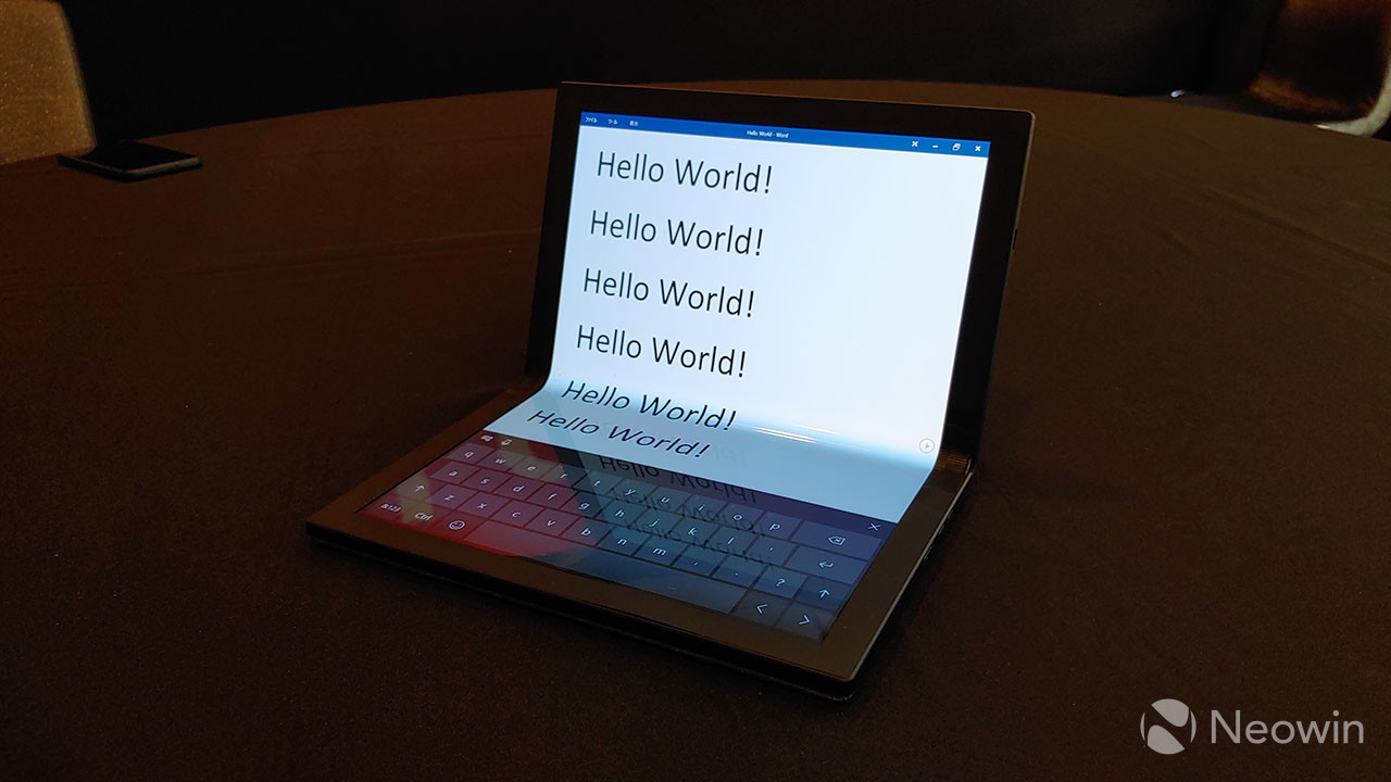 Lenovo unveils a Windows-powered ThinkPad X1 tablet with a