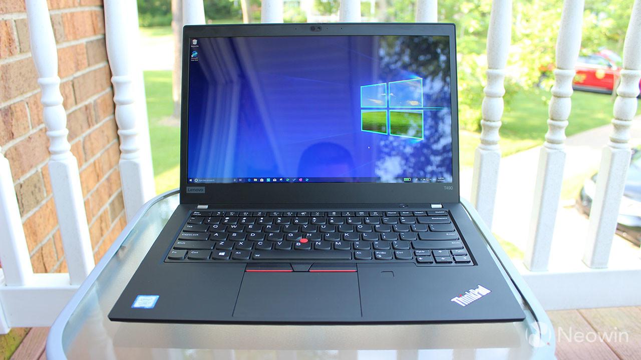 Lenovo ThinkPad T490 review: The most popular ThinkPad gets