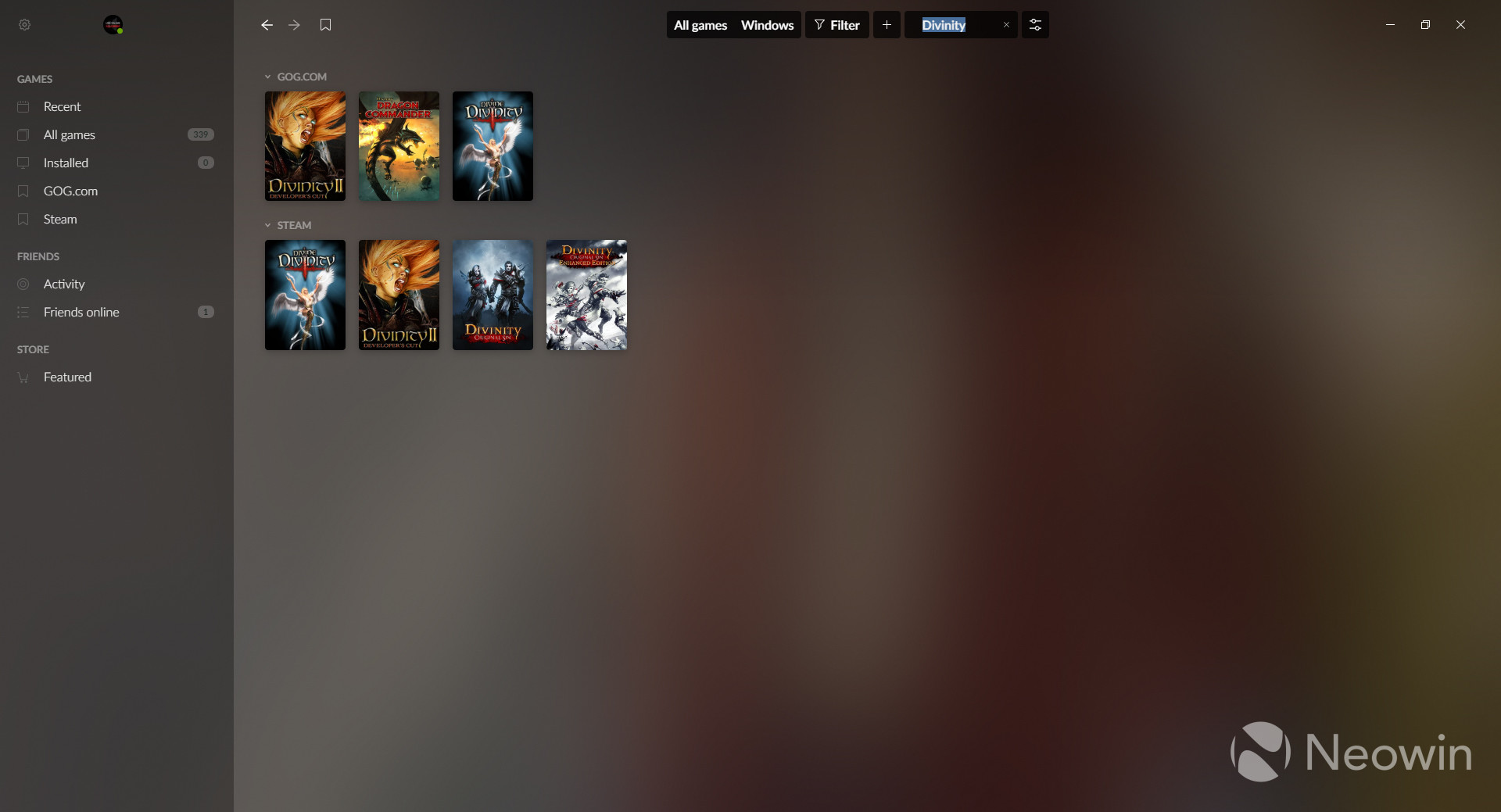 The closed beta for GOG Galaxy 2 0 is now live - Neowin