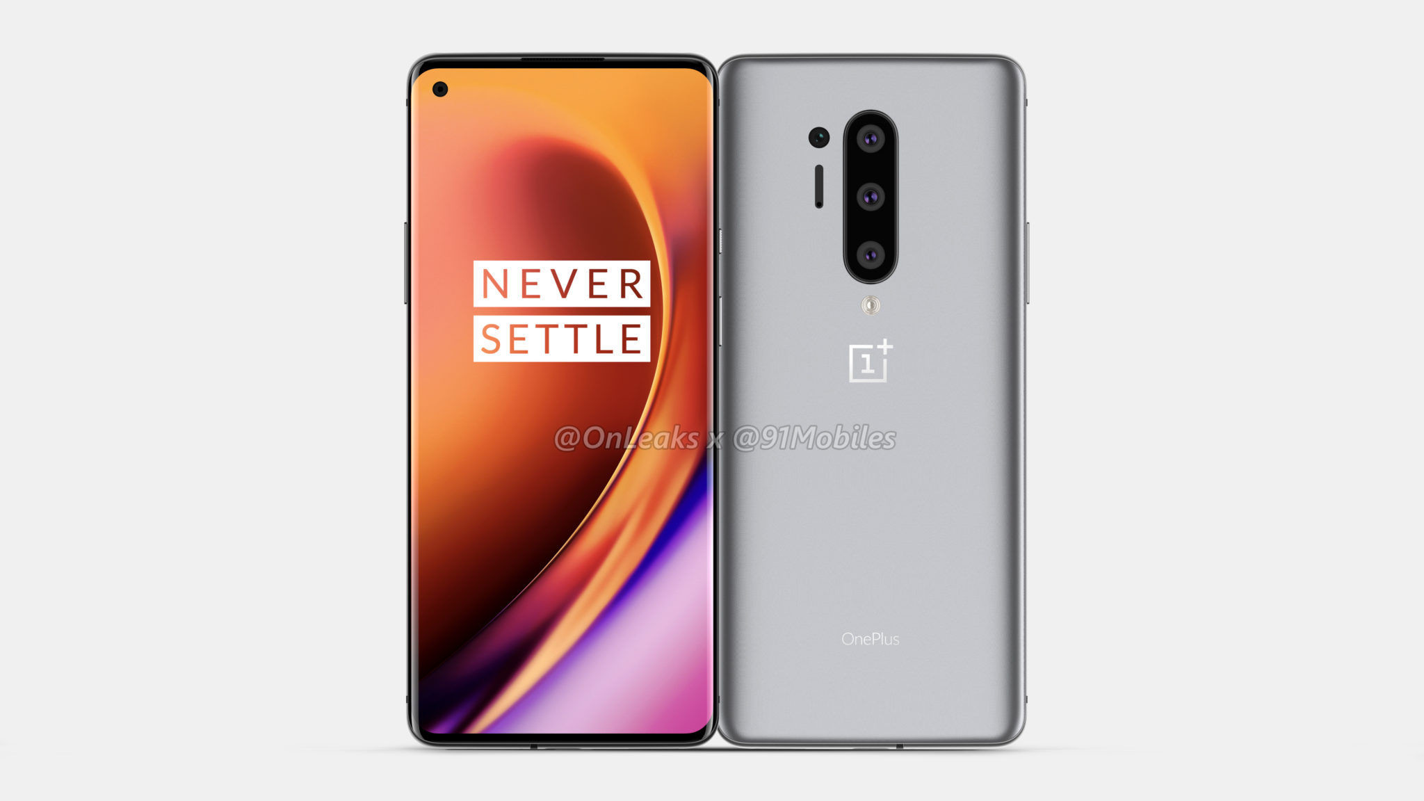 renders of OnePlus 8 Pro  - image 1