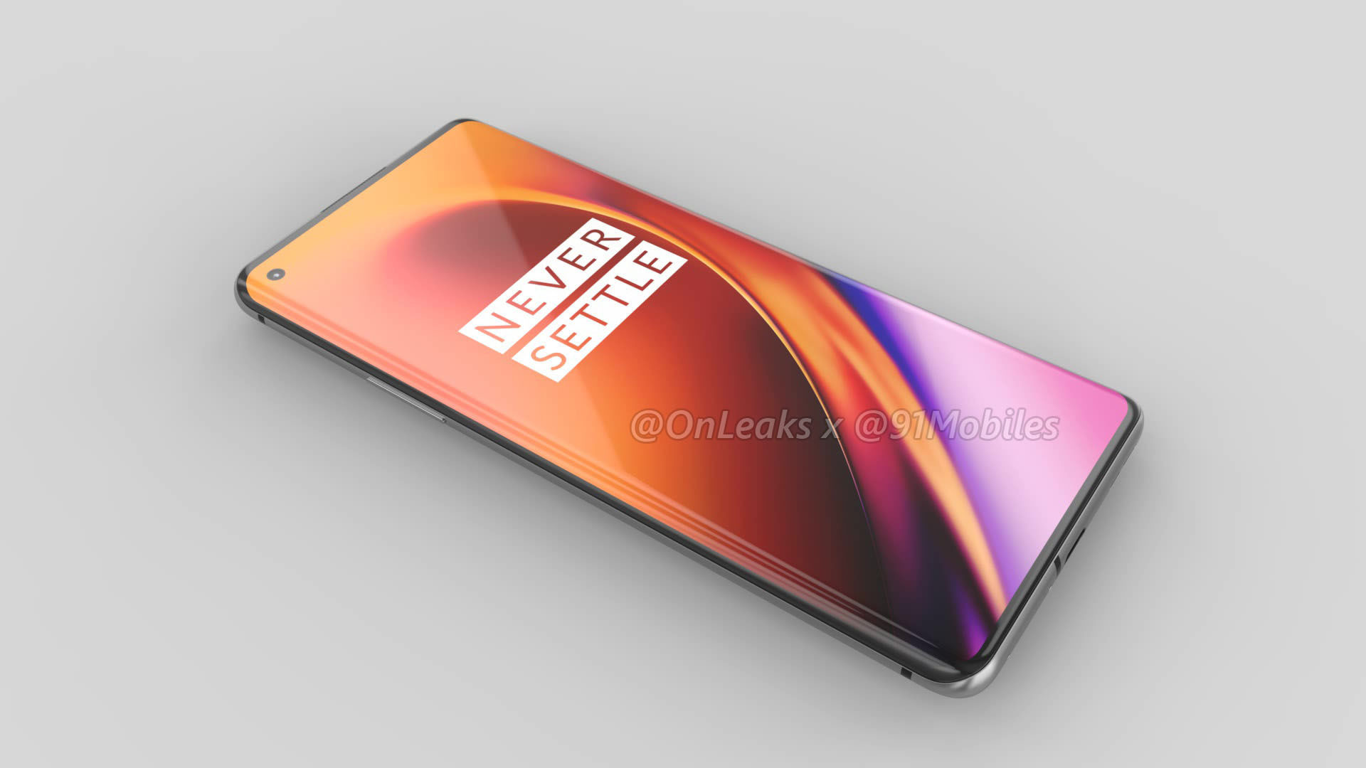 renders of OnePlus 8 Pro have surfaced online by OnLeaks in collaboration with 91mobiles.