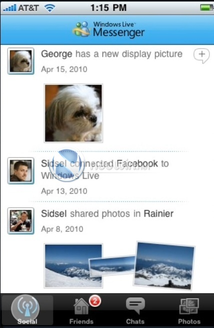 Windows Live Messenger for iPhone unveiled - Neowin