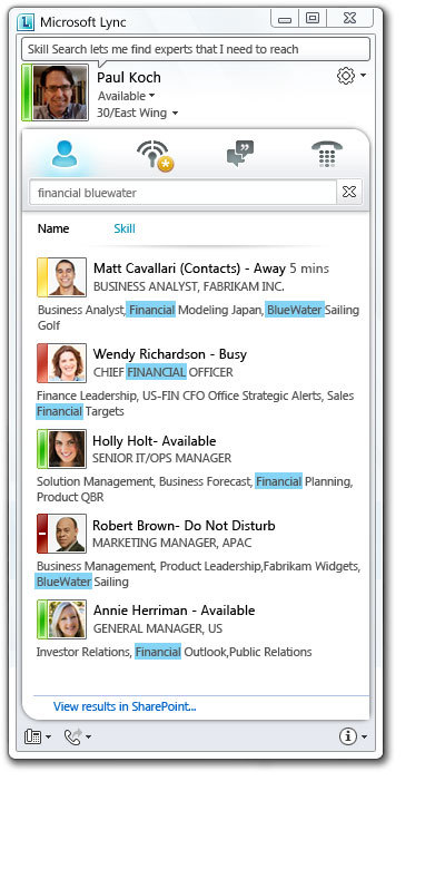 Microsoft Announces Lync, New Office Communications Server