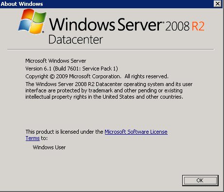 microsoft windows 7 service pack 1 or later