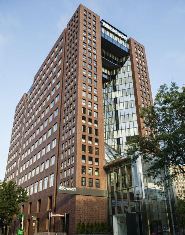 Microsoft greatly expands cambridge massachusetts campus