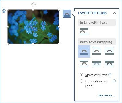 how to change layout options in word 2013