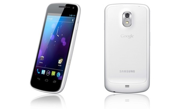 White Samsung Galaxy Nexus release date confirmed for the UK