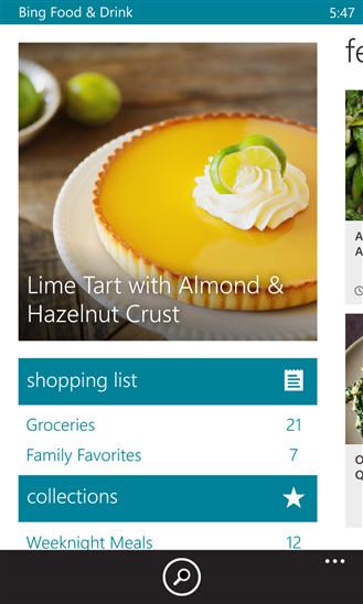 microsoft releases bing food drink app for windows phone neowin