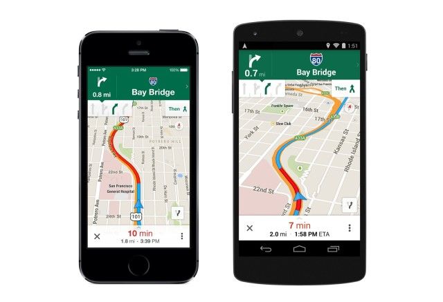 Google Maps updated with lane guidance, offline maps, and