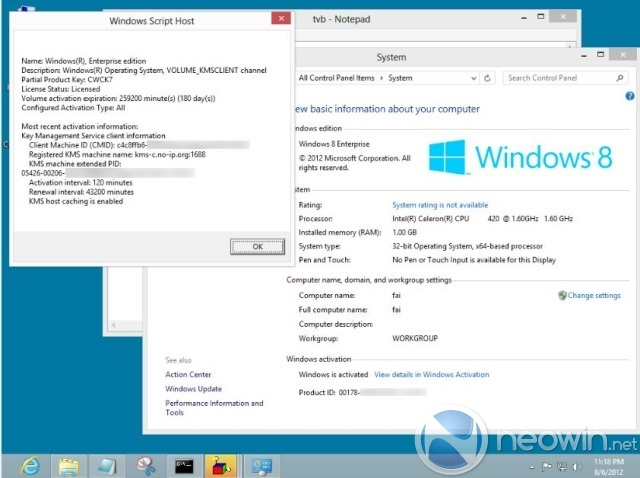 Windows 8 RTM leaked ISOs have been cracked - Neowin