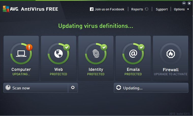 AVG Anti-Virus Free 2015