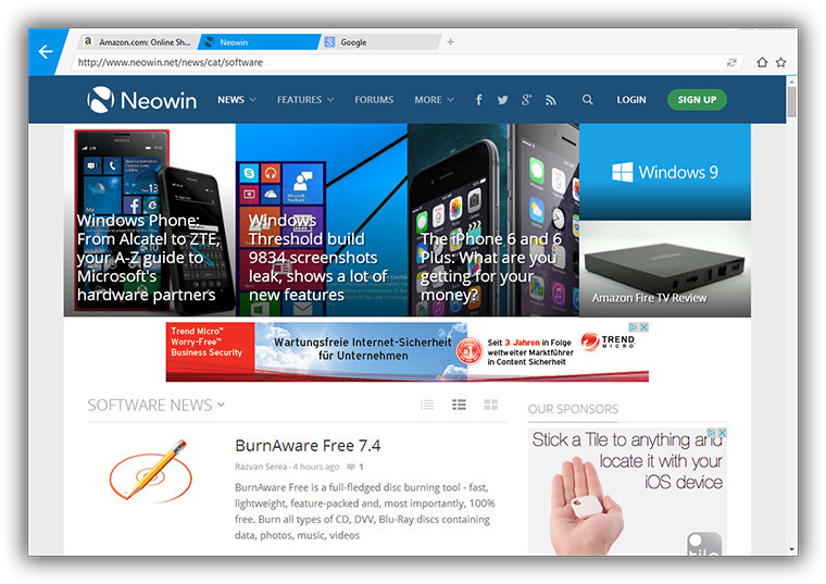 Download Free Mx Browser mxnitro_browser