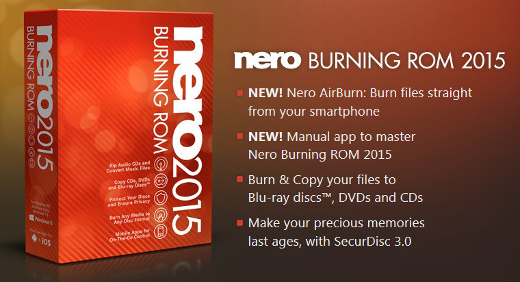Nero Burning ROM 2015 16.0.02200 With Keys Full Version Free Download