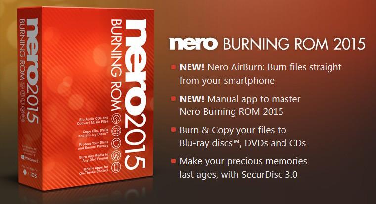 Nero Burning ROM 2015