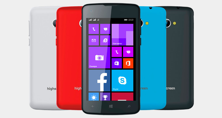 Highscreen unveils its first two Windows Phones: WinJoy ...