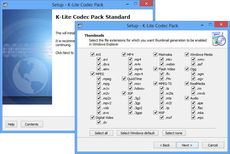K Lite Codec Pack Standard 12 2 2 Neowin