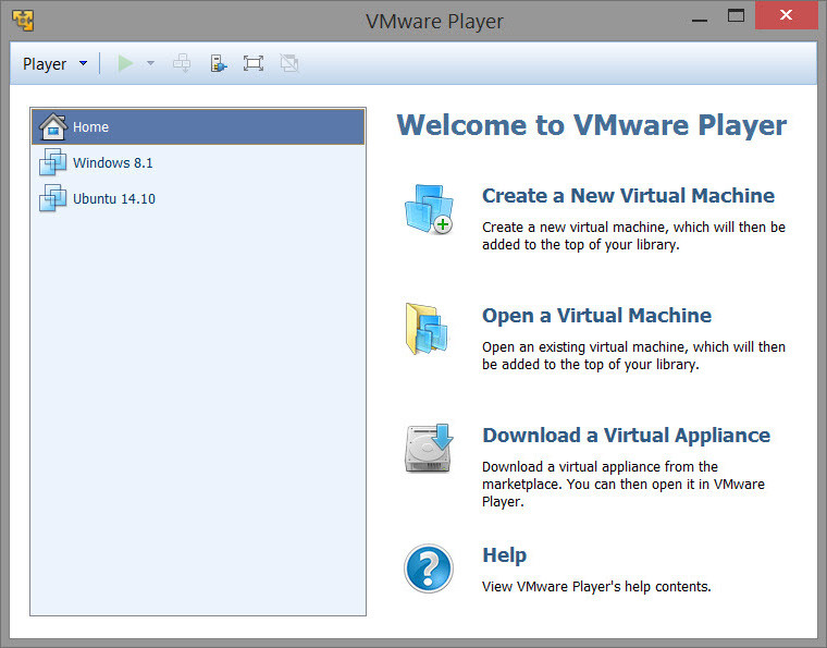 Download vmware player 7. 1. 0 build-2496824 | review softchamp. Com.