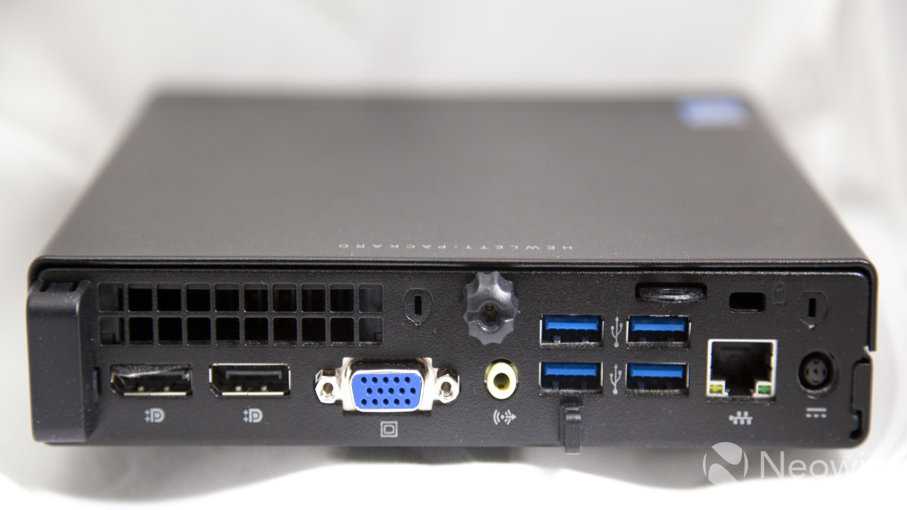 Our look at the HP EliteDesk 800 Desktop Mini - Neowin