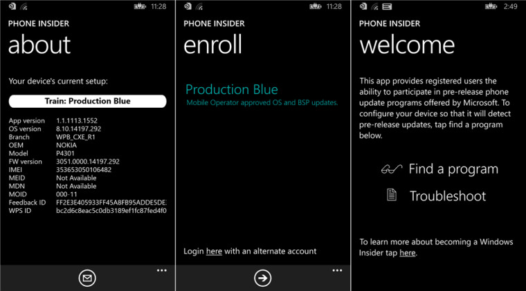Phone Insider app pops up in Windows Phone store, hints at