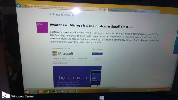 Microsoft Stores rumored to receive new Band units today ...