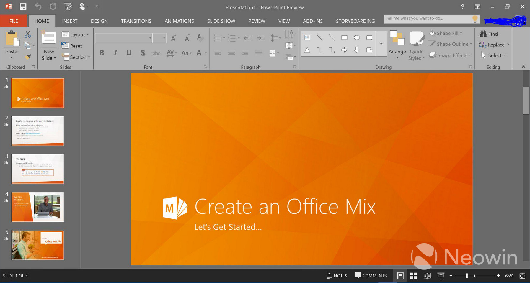 how to download powerpoint 2016