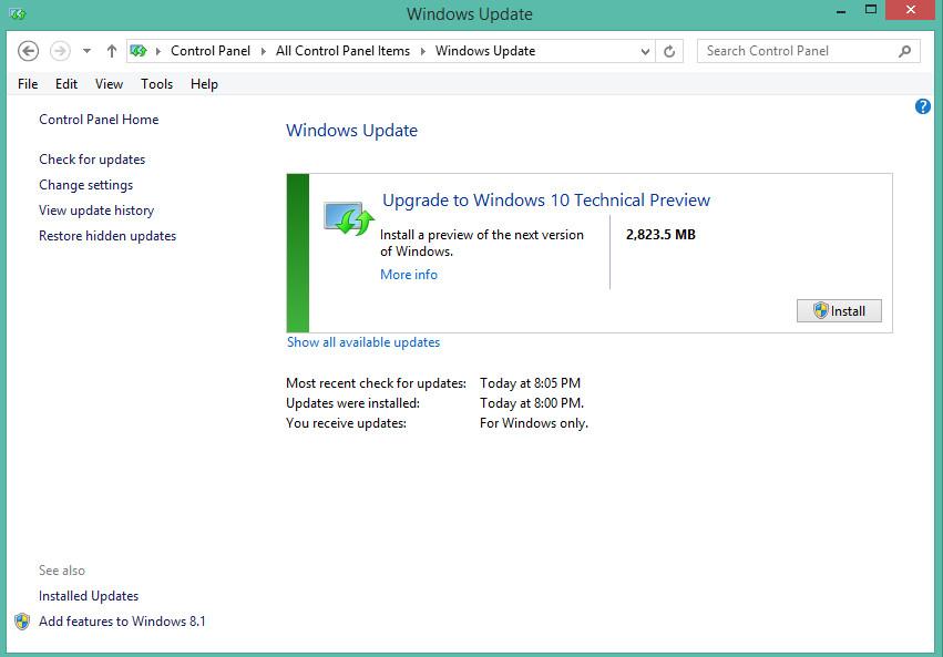 Windows 8 Auf Windows 10 Upgraden