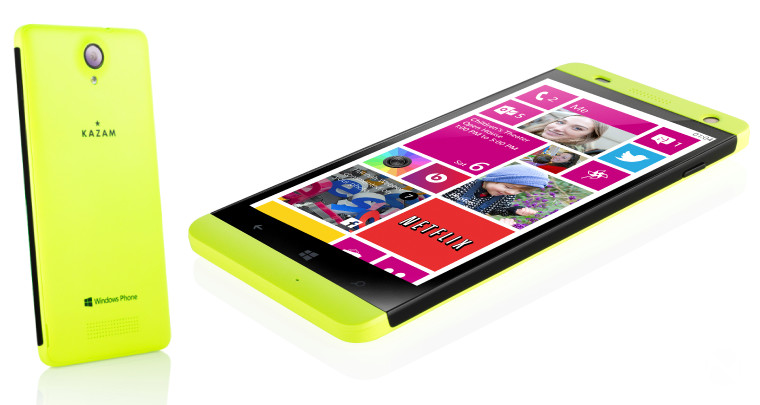 KAZAM launches two new Windows Phones with free ...
