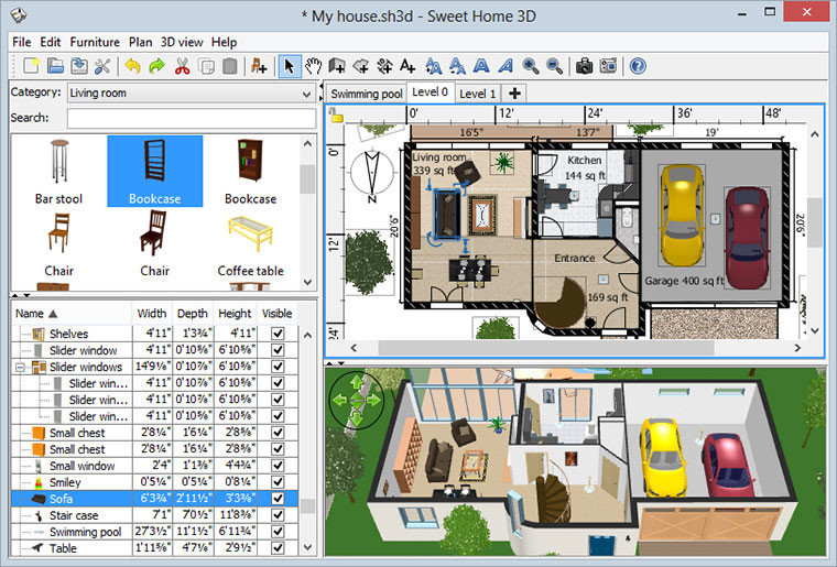 Sweet Home 3D 4.6 - Neowin