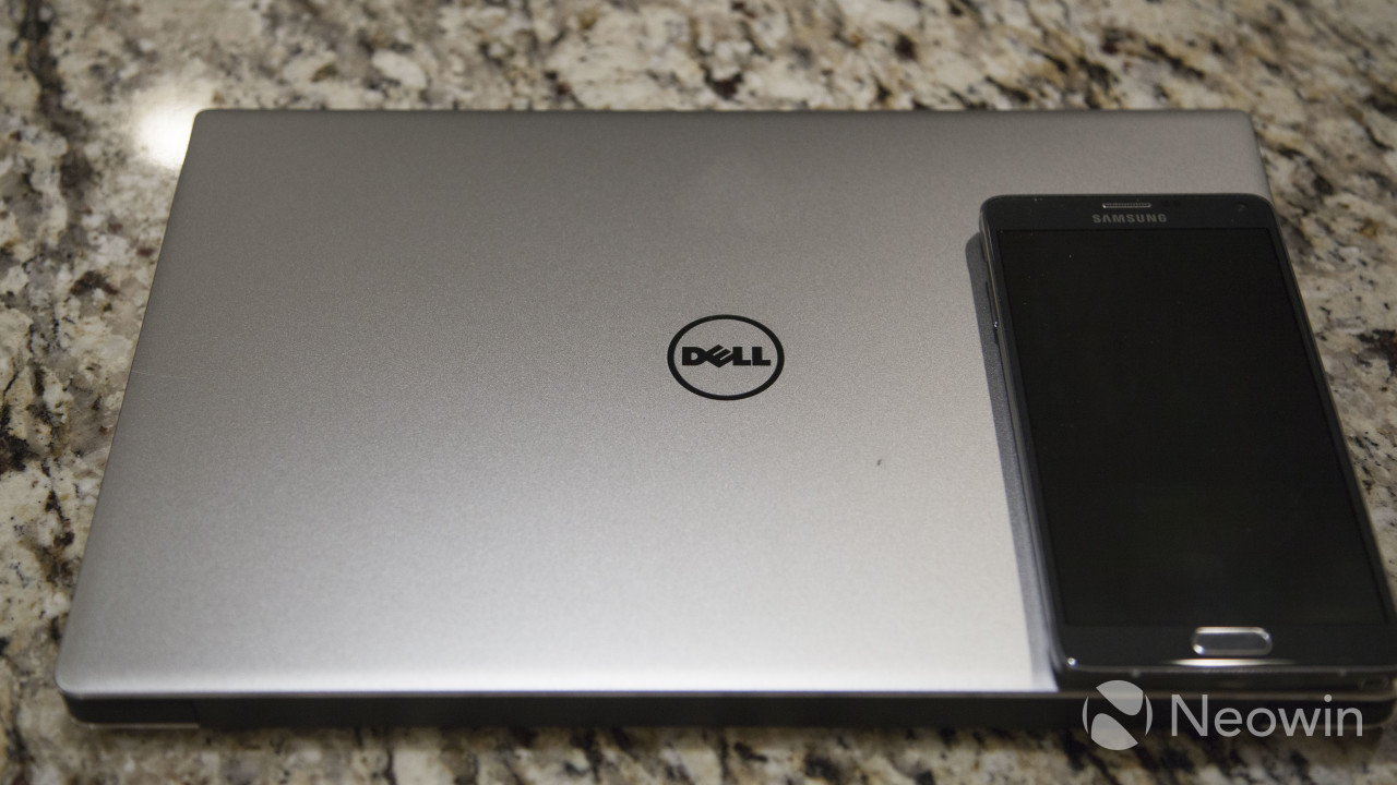 Dell XPS 13 compared to Samsung Galaxy Note 4