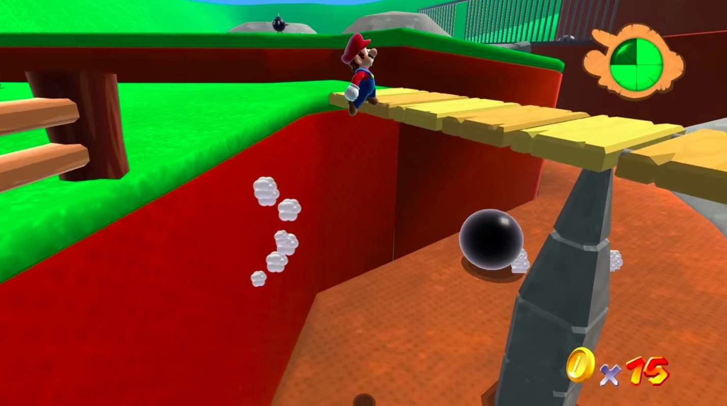 A playable Super Mario 64 has come to your browser in glorious HD