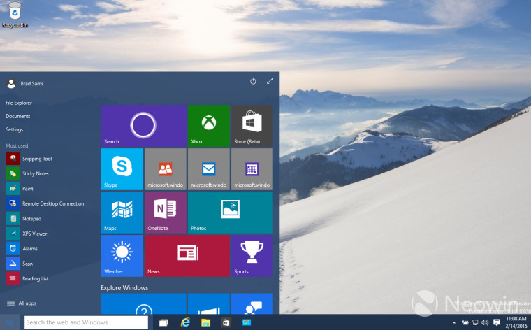 Windows 10 build 10036 includes update to Insider Hub for