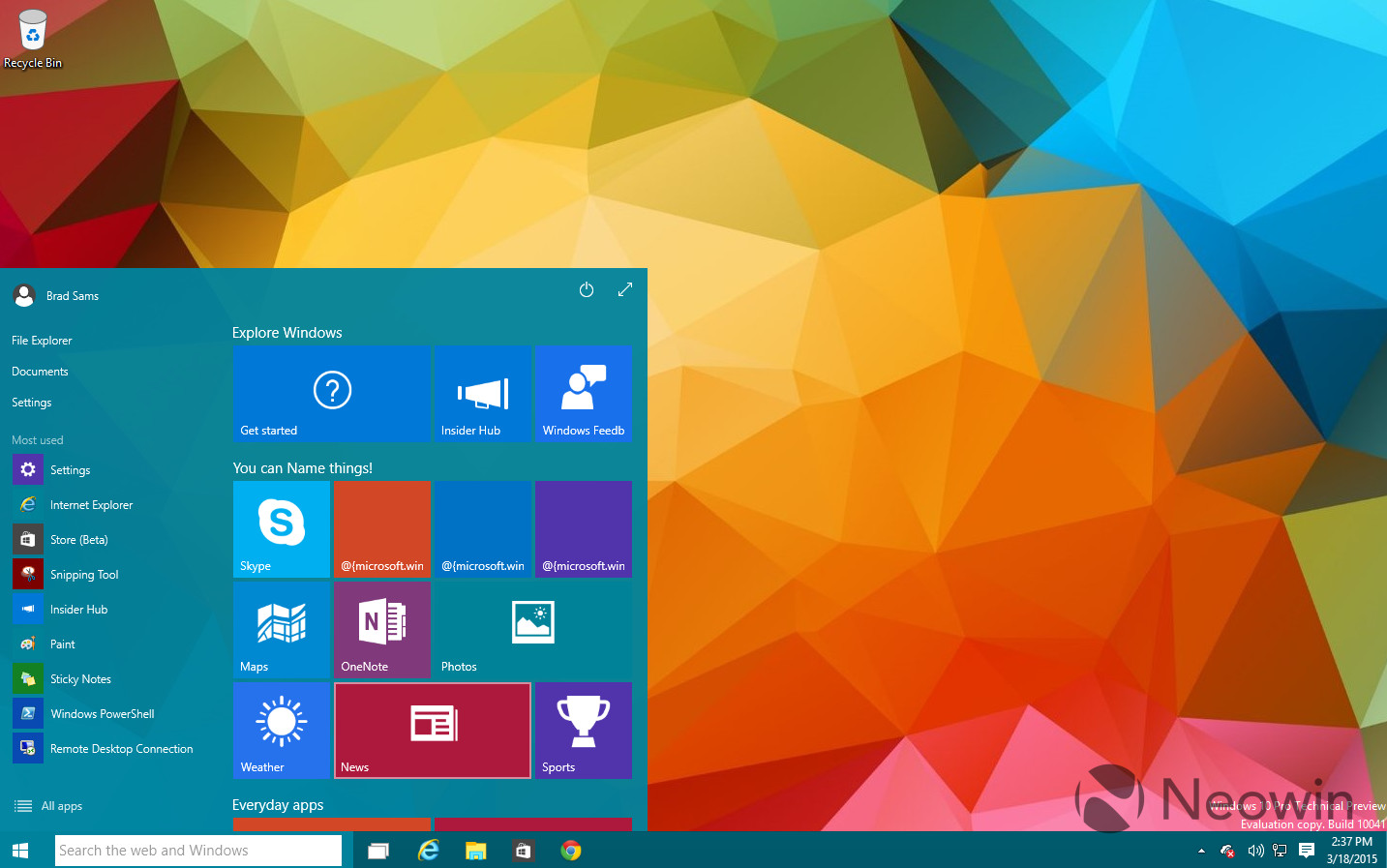 Gallery windows 10 build 10041 neowin earlier today microsoft released build 10041 that brings with it many new features including transparency to the start menu and a lot more ccuart Image collections