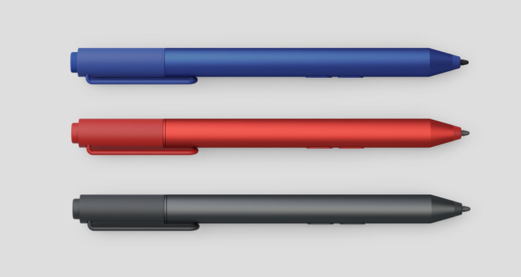 Microsoft adds a bit of color to the Surface pen, now ...