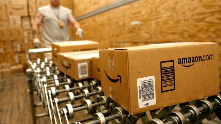 Amazon patents bracelets that can monitor the hands of a warehouse worker