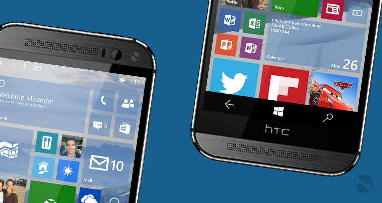 HTC One M8 for Windows is the first non-Lumia handset to ...