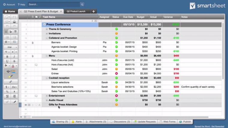 Smartsheet app brings shareable spreadsheets to Outlook - Neowin