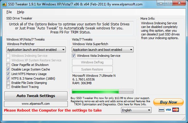 ssd tweaker 3 5 neowin rh neowin net Tweakers Be Like Advanced PC Tweaker