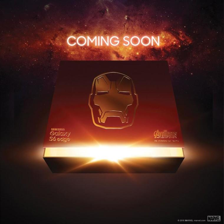 Samsung teases the Galaxy S6 Edge Iron Man Edition - Neowin