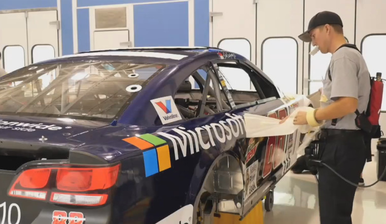 Microsoft is now official technology partner of nascar
