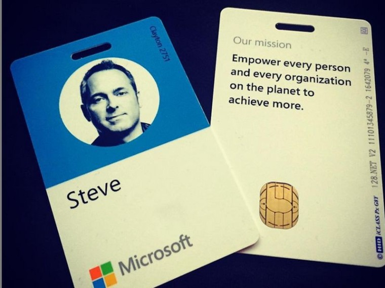 microsoft is overhauling its design including employee badges neowin