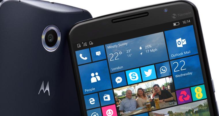 Lenovo says Microsoft's cross-platform software makes Windows Phones less relevant