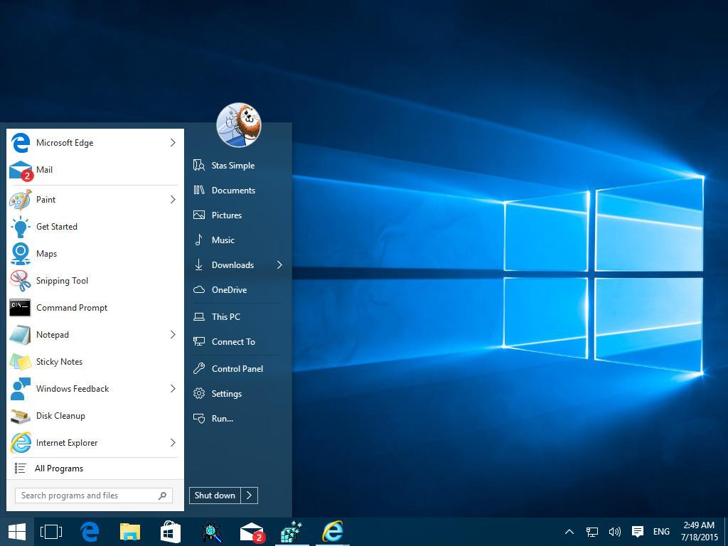 StartIsBack for Windows 10