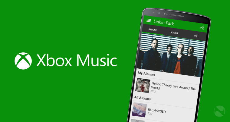 Microsoft updates Xbox Music for iOS and Android with